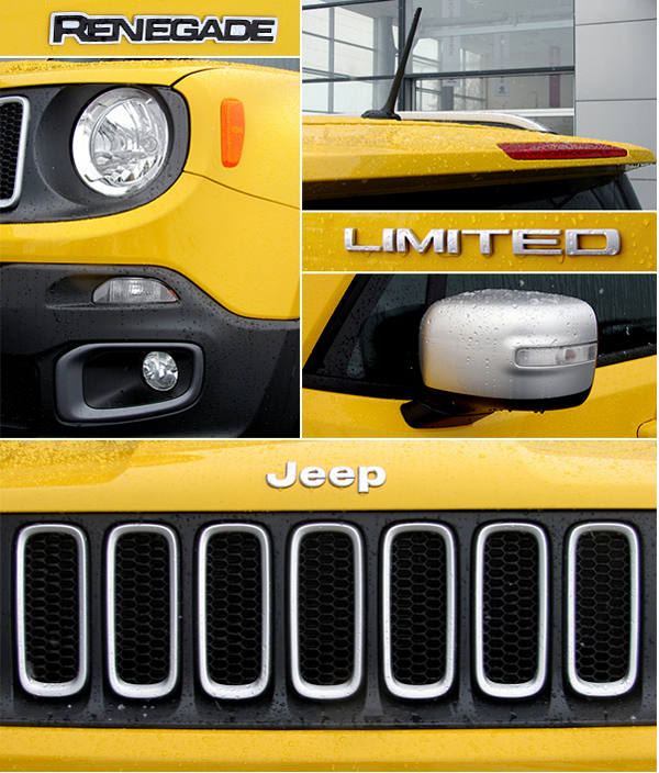 Детали Jeep Renegade