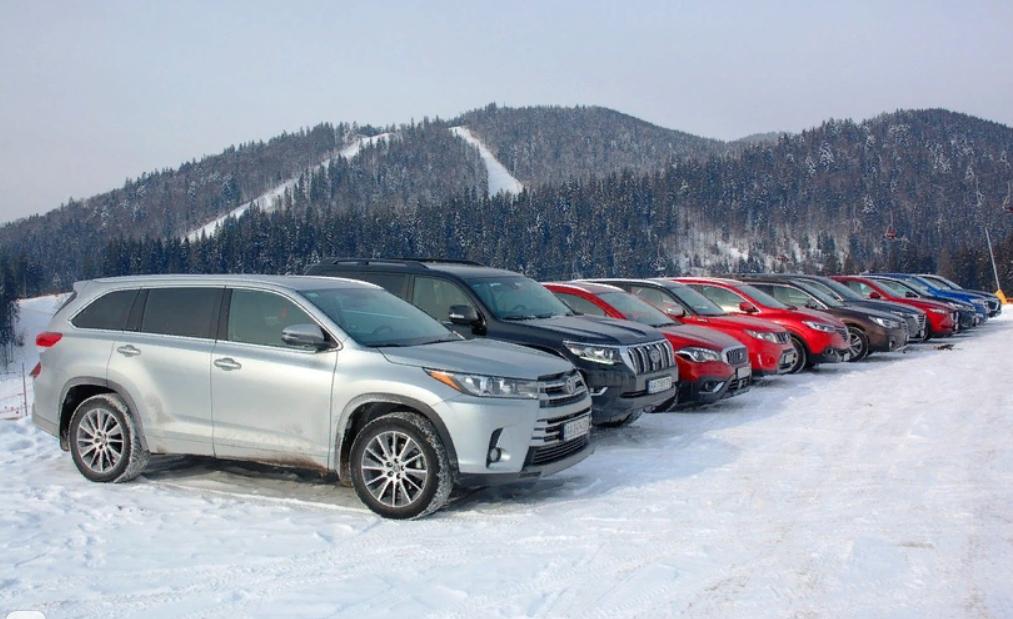 Рейтинг SUV в России