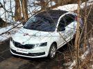 Новая Skoda Octavia 2017: Она еще и глазки строит! - фотография 18