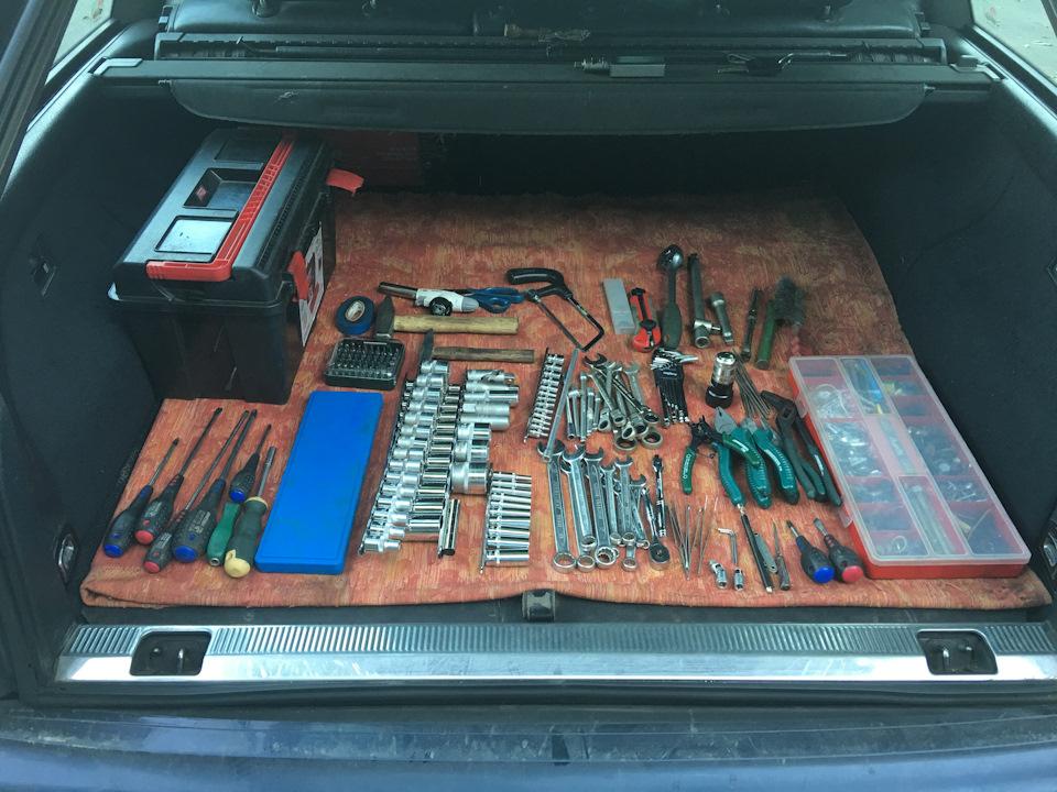 Ключи в багажнике